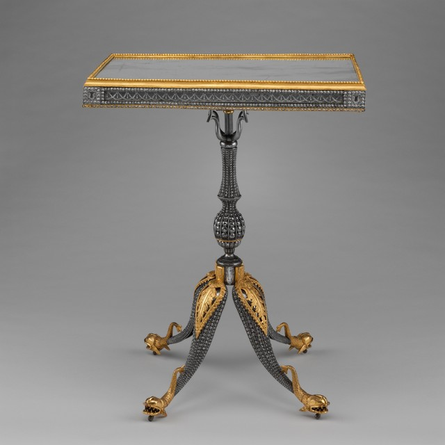 Imperial Armory, 'Center table', ca. 1780–1785, The Metropolitan Museum of Art