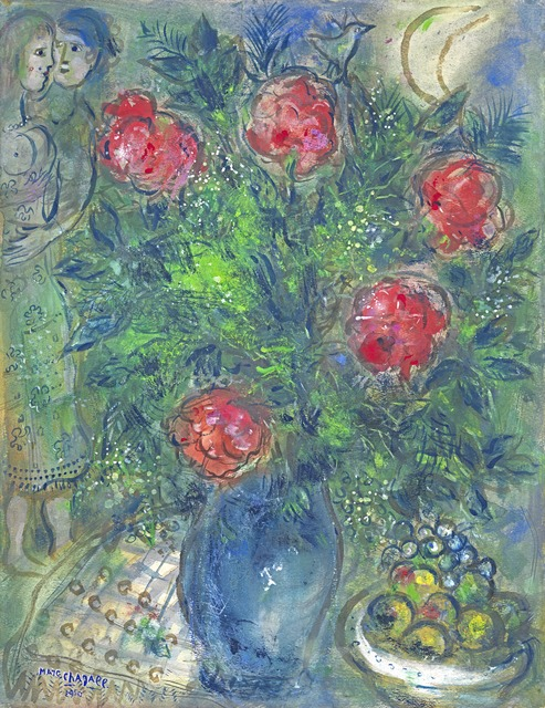 , 'Le bouquet rouge,' 1950, Richard Green Gallery