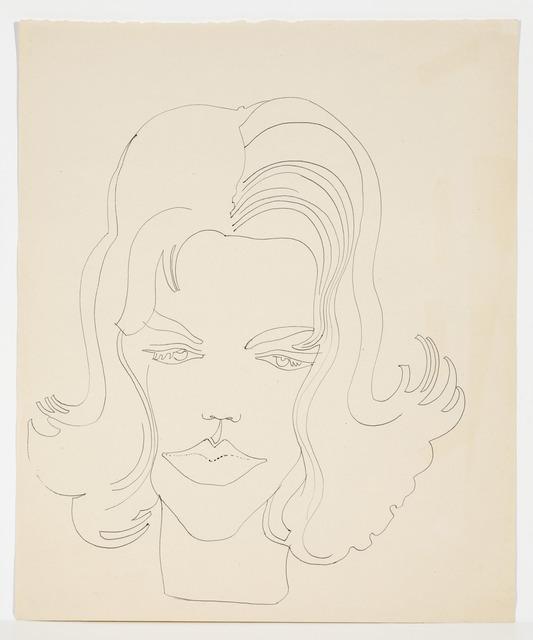 , 'UNIDENTIFIED FEMALE,' ca. 1960, Cheim & Read