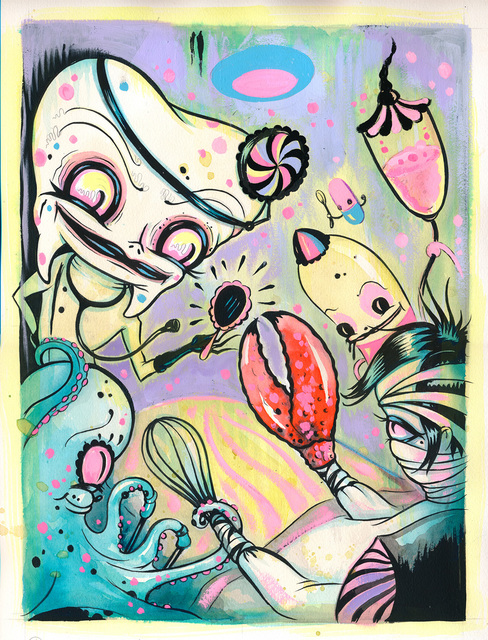 , 'The Operation,' , Corey Helford Gallery