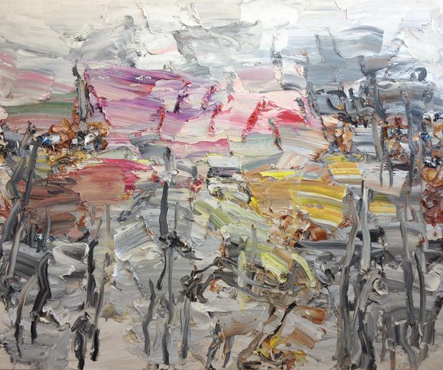 , 'Electronic Rainbow Ink Forest,' 2015, Nanda\Hobbs