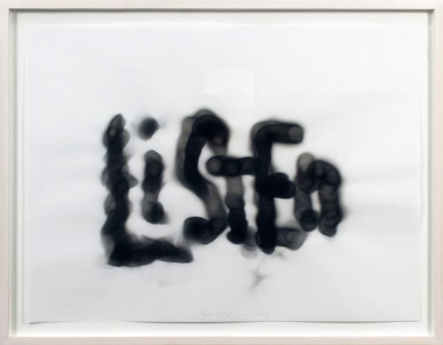 Rob Wynne, 'Listen', 2017, Bronx Museum: Benefit Auction 2018