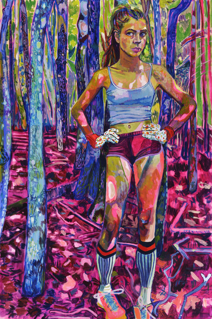 Elizabeth Chapin, 'Pink Camouflage', 2018, Wally Workman Gallery