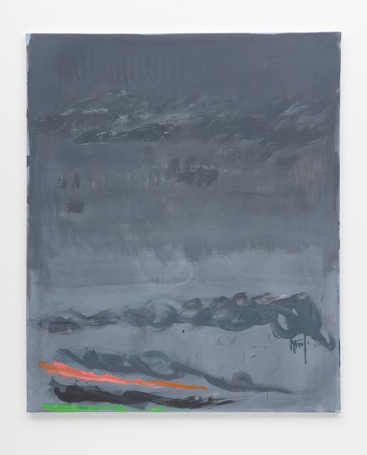 Özcan Kaplan, 'Untitled, 2018, No. 7', 2018, Painting, Oil on untreated cotton, FELD+HAUS