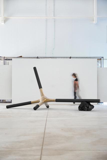 , 'Suple Connecting Form: Manufactured Landscapes Bench,' 2018, Friedman Benda