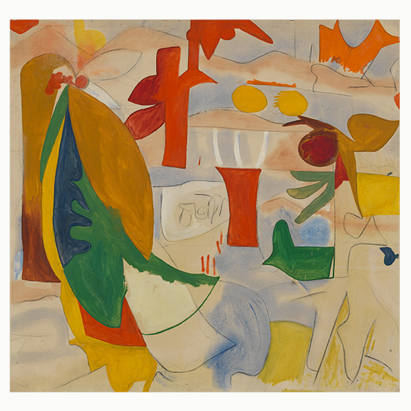 , 'Abstract Landscape,' 1951, Helen Frankenthaler Foundation