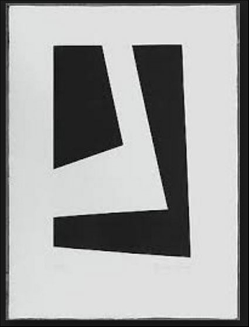 , 'Untitled Hard Edge Minimalist Etching,' 1969, Alpha 137 Gallery