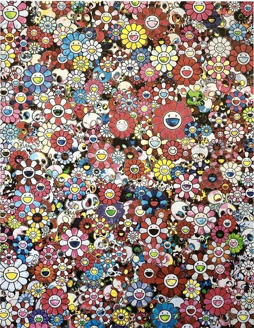 Takashi Murakami, 'Dazzling Circus: Embrace Peace and Darkness with Thy Heart', 2020, Print, Archival pigment print, Lougher Contemporary