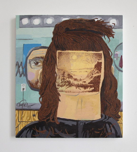 , 'Hairscaping,' 2015, Freight + Volume