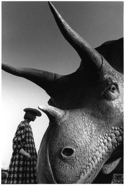 , 'Ina Balke, coat Monte-Sano & Pruzan, World's Fair, New York, Harper's Bazaar,' 1964, Bernheimer Fine Art