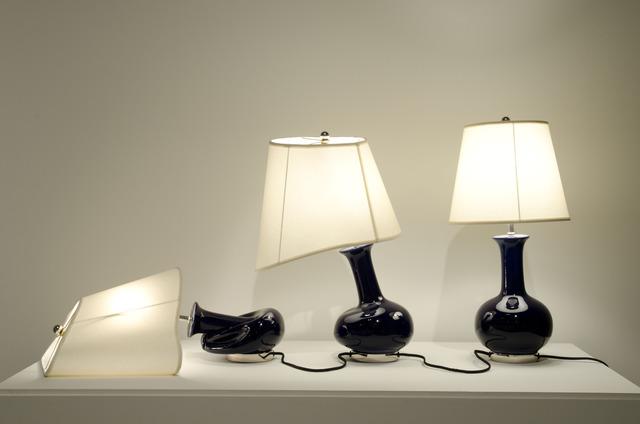 , '3 Lamps,' 2010, Anne Mosseri-Marlio Galerie