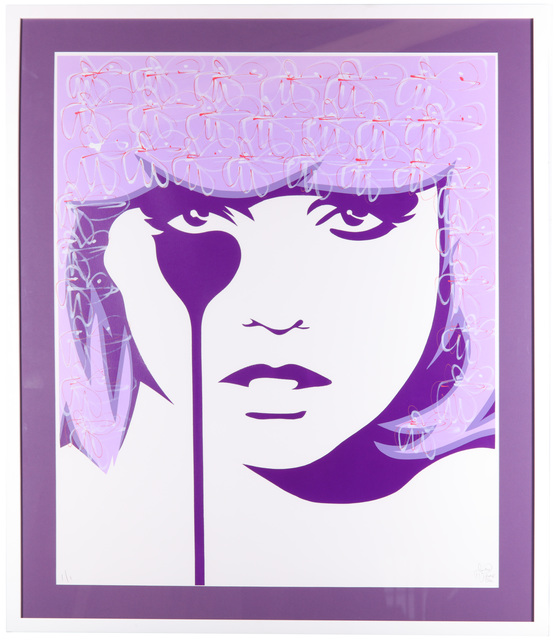 Pure Evil, 'Chris Steins Nightmare (Close Up) (Lilac & Wine)', 2014, Chiswick Auctions