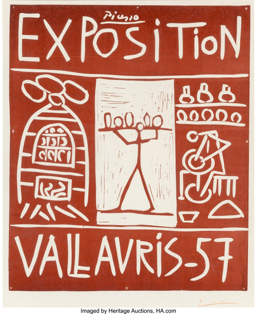 Pablo Picasso, 'Exposition Vallauris 57', 1957, Heritage Auctions