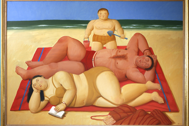 , 'The Beach,' 2009, Opera Gallery