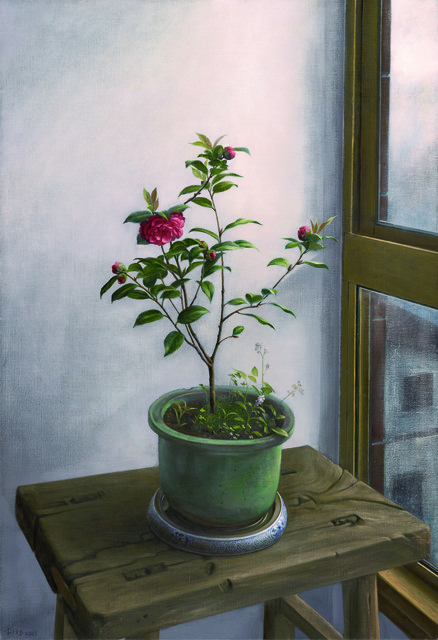 Xi Song, 'Camellia by a Rainy Window', 2009, Asia University Museum of Modern Art