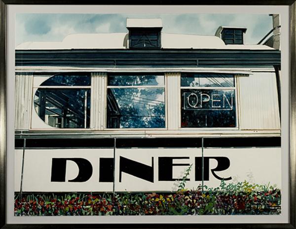 , 'Diner,' c. 1990, David Barnett Gallery