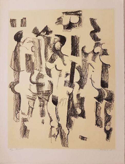 Fausto Pirandello, 'Bagnanti', 1967, Wallector