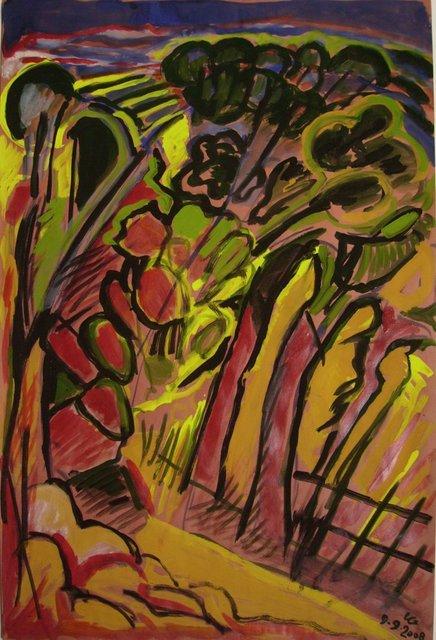 , 'Sardaigne 1,' 2008, Galerie Marie-Robin