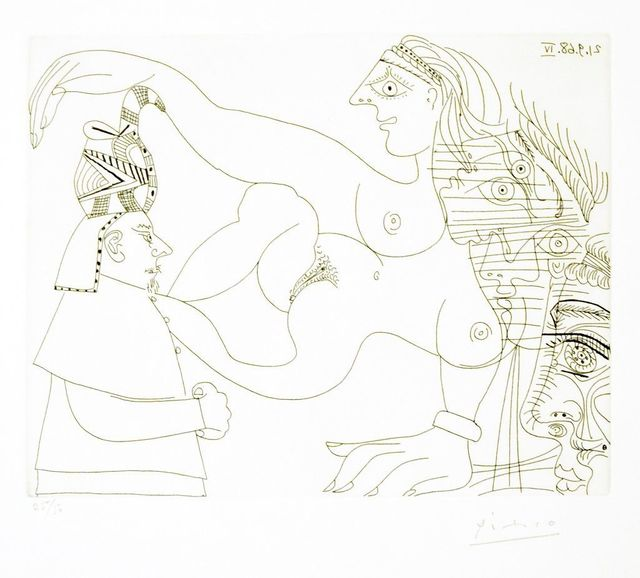 Pablo Picasso, 'Untitled, 21.9.68.IV.', 1968, Wallector