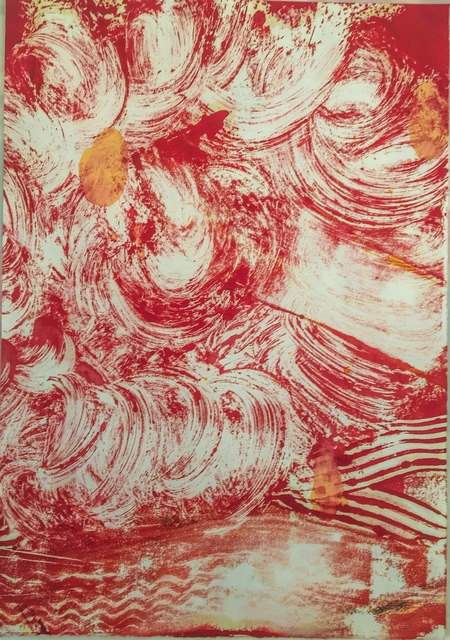 , 'Red Flower 1,' 2015, Cross Contemporary Partners