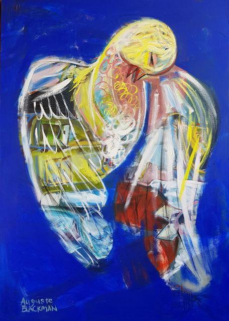 Auguste Blackman, 'Blue Bird (of Happiness)', 2018, Angela Tandori Fine Art