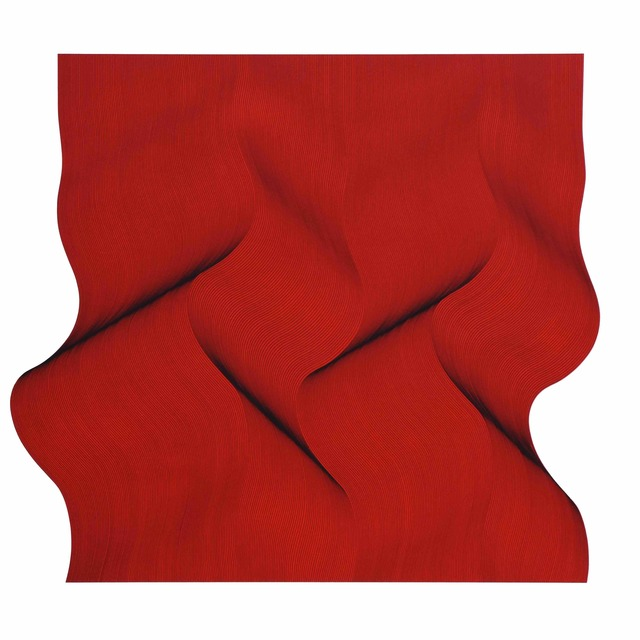 , 'Movement in red - abstract painting,' 2019, Contempop Gallery