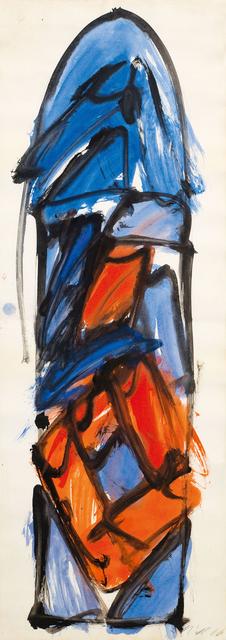 , 'draft for a glass window in St. Margarethen, Burgenland,' 1966, Galerie Kovacek & Zetter
