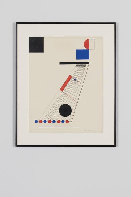 , 'Abstrakte Komposition,' 1922, von Bartha