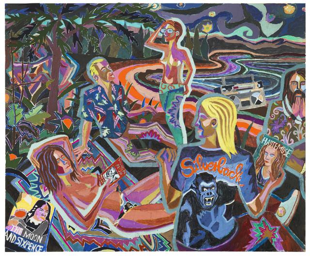 , 'Les couleurs de la déraison,' 2014, Galerie Peter Kilchmann