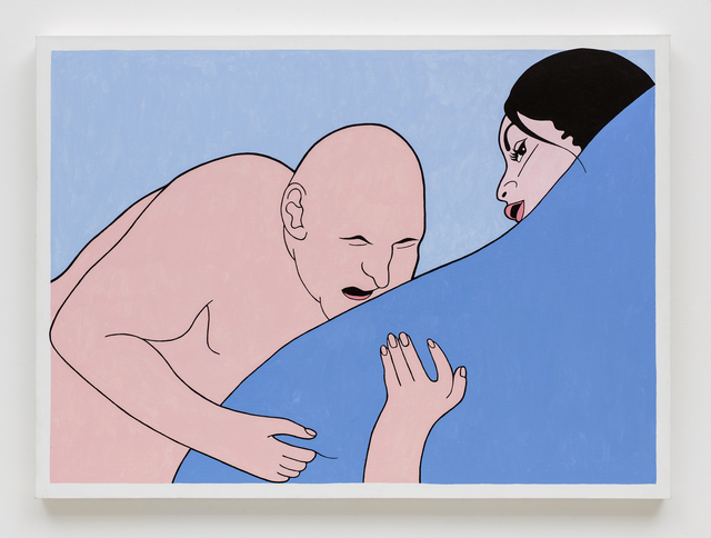 , 'Blue Blanket,' 2000, David Kordansky Gallery