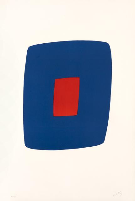 , 'Dark Blue with Orange,' 1964-1965, Galerie Lelong & Co.