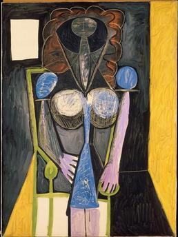 , 'Femme dans un fauteuil (Woman in an armchair),' 1946, Musée Picasso Paris