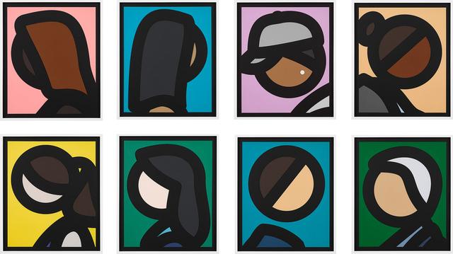 , 'Paper Heads,' 2019, Cristea Roberts Gallery