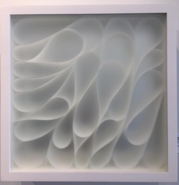 Sophia Dixon Dillo - White box / 2395 - Untitled Mixed Media - 13.5 x 13.5 x 3.5 inches - 2017