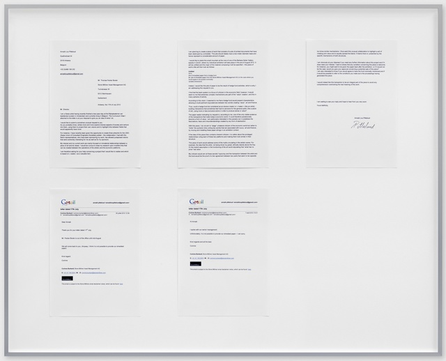 , 'Shredded Paper,' 2012, Barbara Seiler