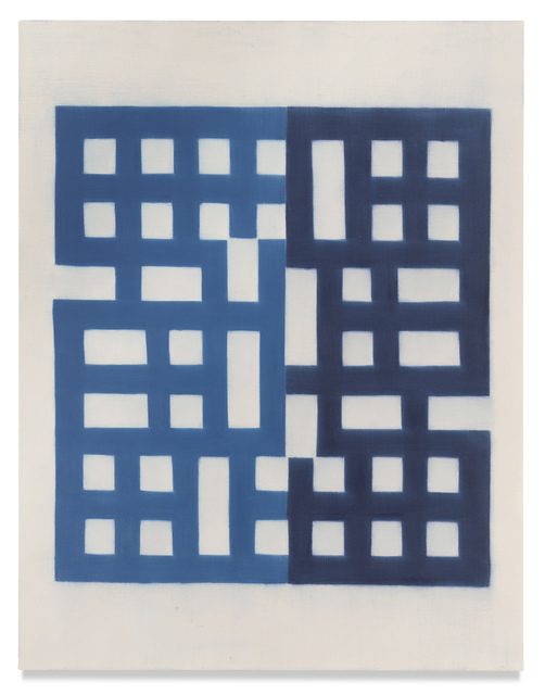 Suzanne Caporael, '756 (upside down and backward)', 2020, Painting, Oil on linen, Miles McEnery Gallery