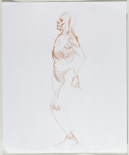 , 'Untitled (Standing pose),' 2016, Brooklyn Museum