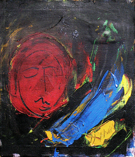 , 'Moon Face I, II,' 1961, Walter Wickiser Gallery