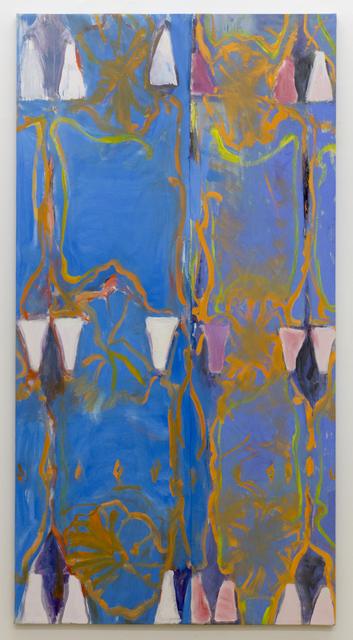 , 'Split Blue Screen,' 2015, Peter Blum Gallery