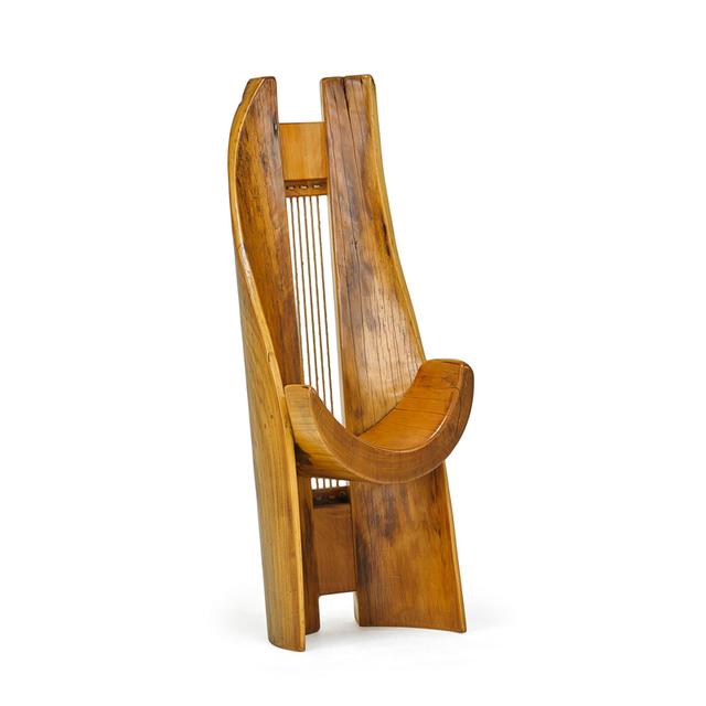 Hugo França, 'Sculptural Chair, Brazil', Rago/Wright