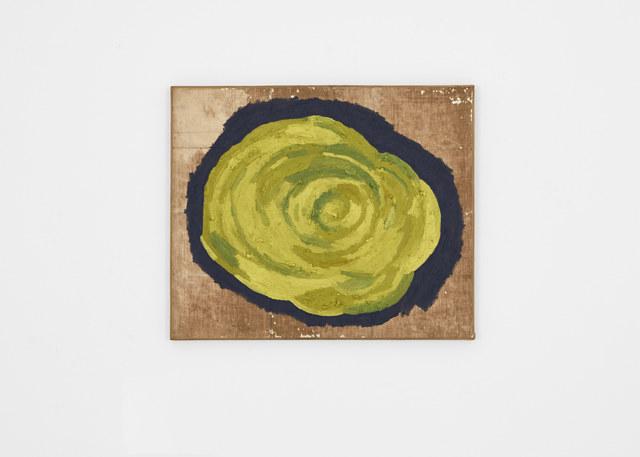 James hd Brown, 'Yellow Flower on Cold Grey', 2019, Galería Hilario Galguera