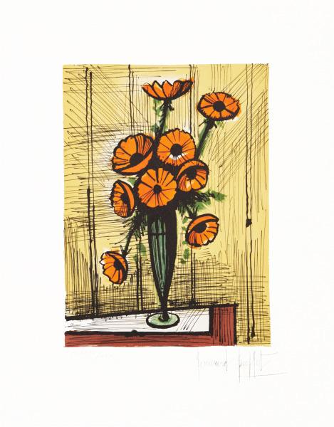 , 'Bouquet d' anemones oranges,' , Fairhead Fine Art Limited