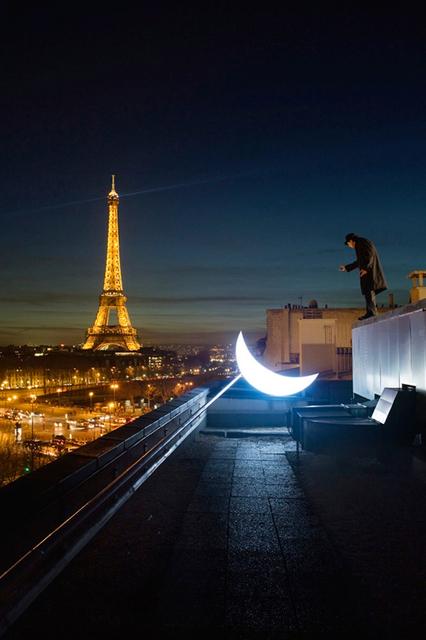 Leonid Tishkov, 'Private Moon in Paris', 2009, Galerıe Blue Square
