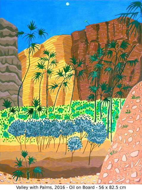 , 'Valley with Palms,' 2016, Art Atrium