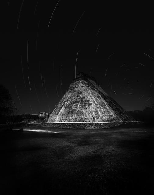 Tomás Casademunt, 'Piramide del Adivino, serie Maya Puuc', 2009, Photography, Pigmentos sobre papel algodon, le laboratoire