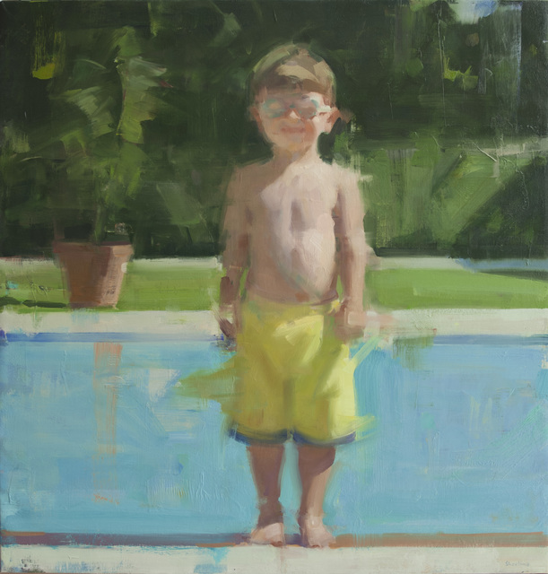 , 'Adam by the Pool,' 2013, Quidley & Company