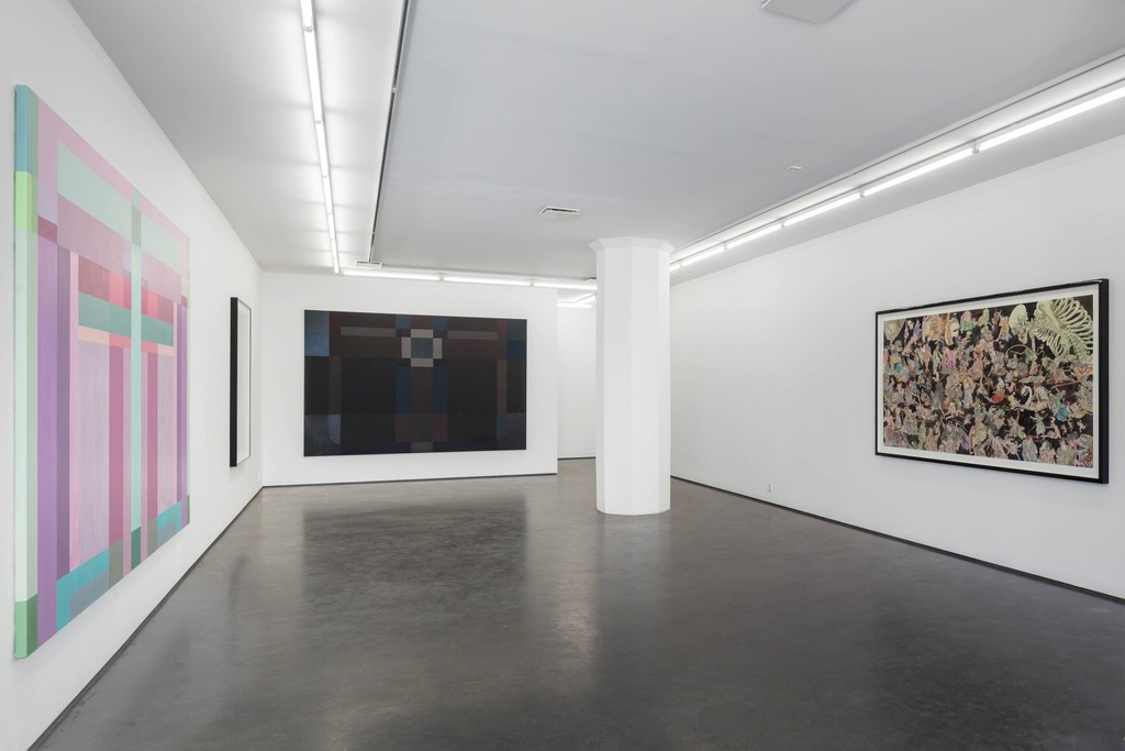 Installation view, Fredrik Söderberg, Sol och stål – krigarens väg / Sun and Steel – The Warrior's Path, 2018. Photo: Jean-Baptiste Béranger