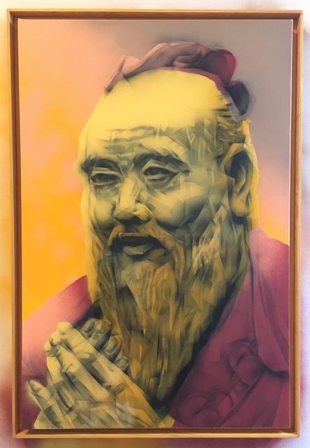 , 'Portrait of Confucious ,' 2017, Mirus Gallery