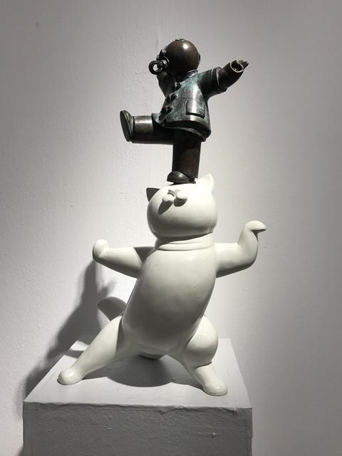 Jiang Shuo, '中国白猫;Chinese White Cat', 2014, Linda Gallery