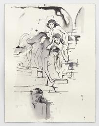 Hill Fairies (after Burne-Jones)